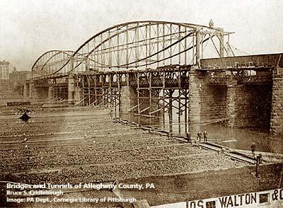 Smithfield Street Bridge, 1881